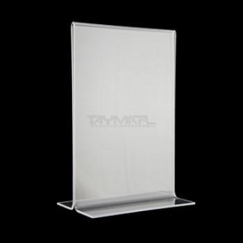 """5"""" x 7"""" Clear Bottom Loading Table Tent"""