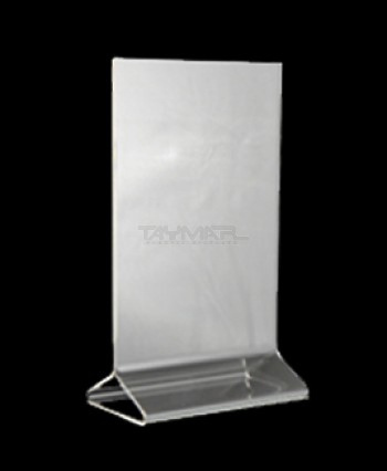 5  x 7  Clear Top Loading Table Tent & Table Tents - Sign Holders / Easels - Our Products - Taymar ...