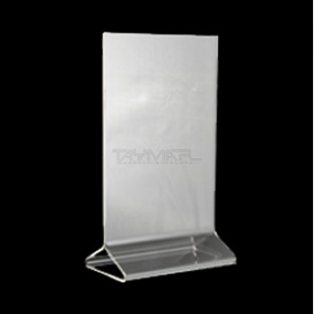 Clear Plastic And Acrylic Table Talkers Promotional Upright Menu & Plastic Table Tents - Best Plastic 2018
